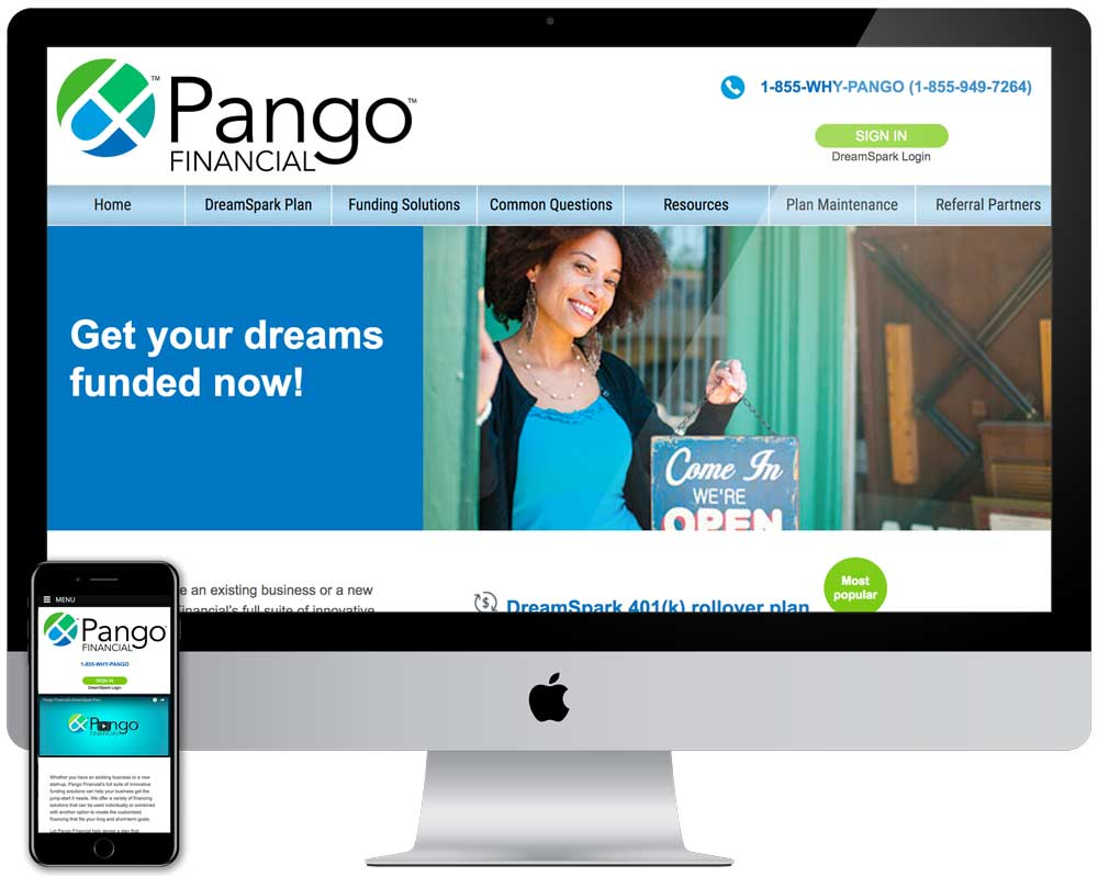 Pango  Website