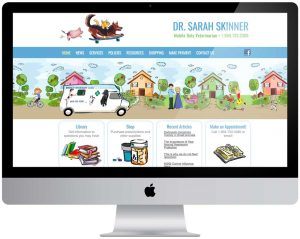 Dr. Sarah Skinner Veterinarian Website