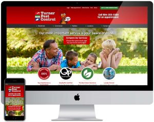 Turner Pest Control Website