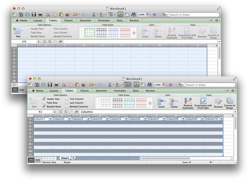 Formula For Alternating Colors In Excel 2013