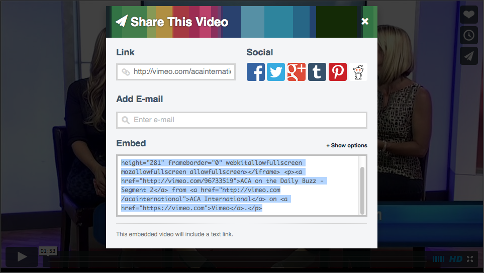 How to embed a Vimeo video into your WordPress site – Lena Shore