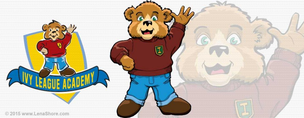 ivy-league-bear-mascot-logo-child-care-illustration